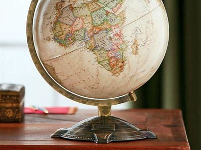 World Globe on Desk