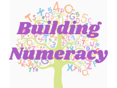 number tree graphic with Building Numeracy text